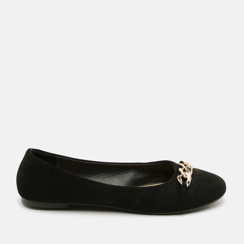 נעל בלרינה עם אבזם