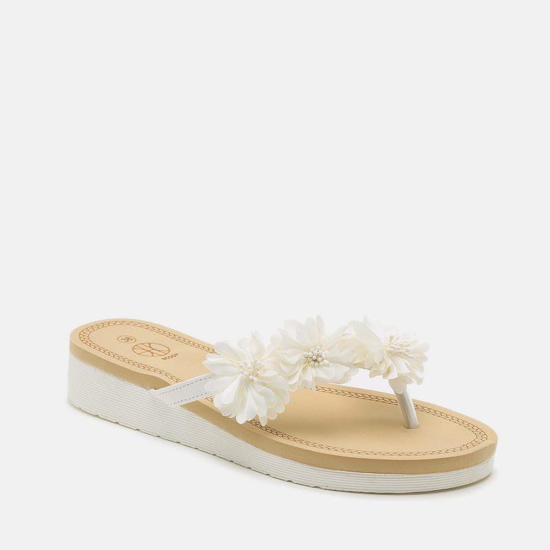 נעל אצבע פרחונית
