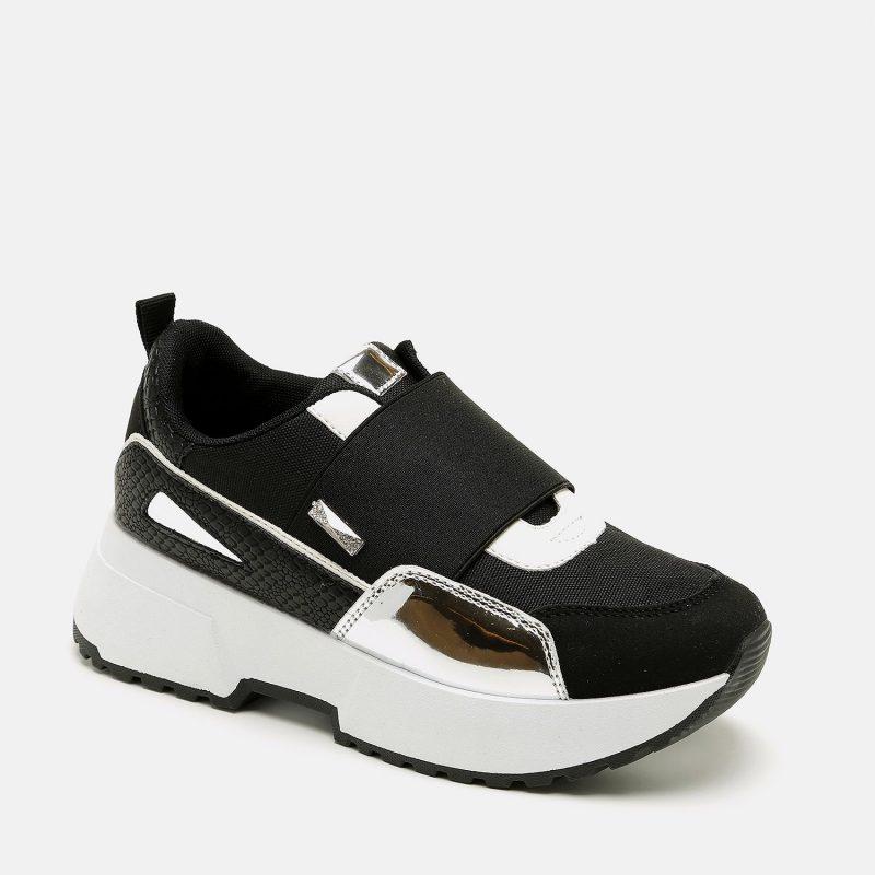 נעל ספורטיבית אופנתית עם סוליה צ'אנק