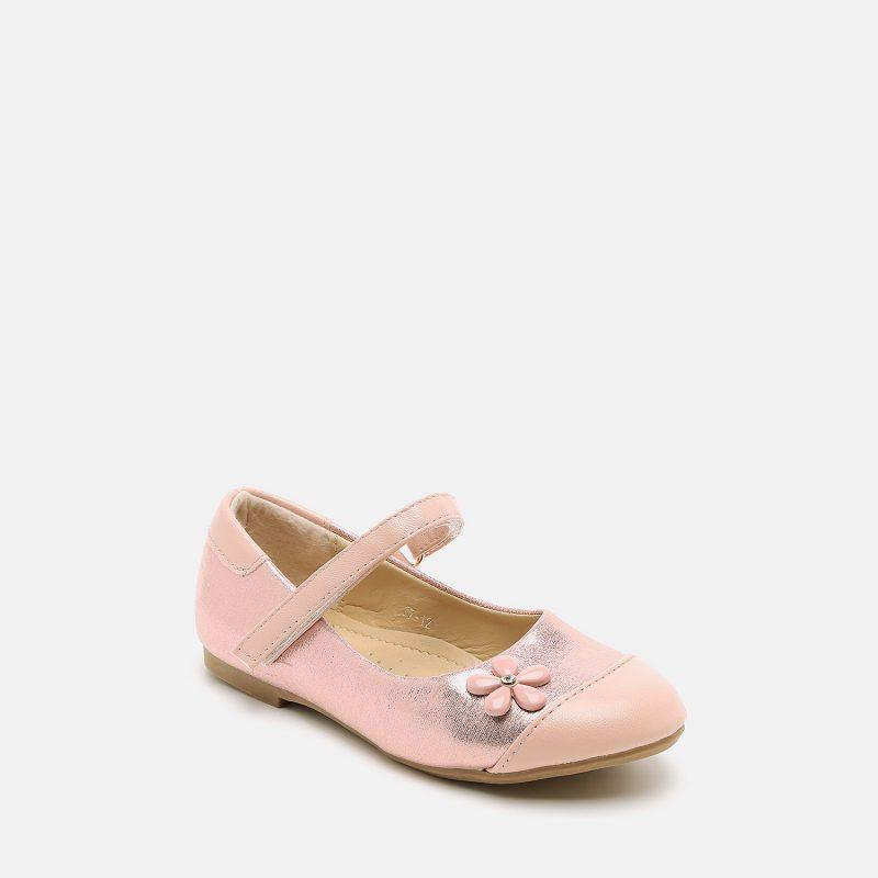 נעל בנות פצפונים עם פרח